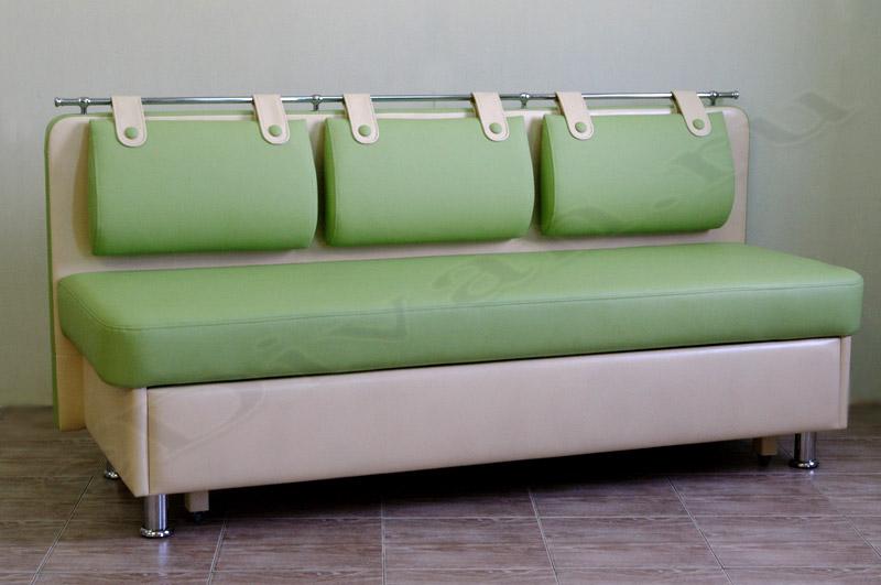 Прямой дивиан со спальным местом Метро-СВ